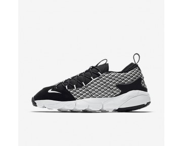 Nike Air Footscape NM Jacquard Mens Shoes Black/Black/White Style: 898007-001