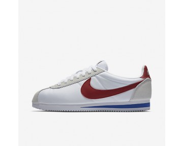Nike Classic Cortez Nylon Premium Mens Shoes White/Varsity Royal/Varsity Red Style: 876873-101