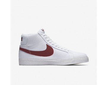 Nike SB Zoom Blazer Mid Canvas Mens Shoes White/Cedar Style: 902662-169