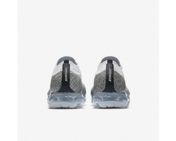 NikeLab Air VaporMax Flyknit Mens Shoes Pale Grey/Black/Pure Platinum/Sail Style: 899473-002