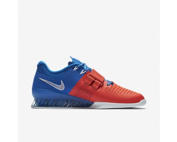 Nike Romaleos 3 AMP Mens Shoes Soar/White/Bright Crimson Style: 923287-402