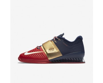 low cost f4add 26bd5 Nike Romaleos 3 Freedom Mens Shoes Midnight NavyUniversity RedWhite  Style AA3154