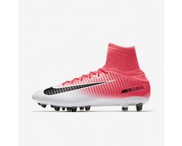 Nike Mercurial Veloce III Dynamic Fit AG-PRO Mens Shoes Racer Pink/White/Black Style: 831960-601