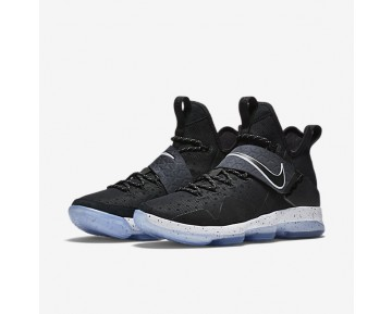 LeBron XIV EP Mens Shoes Black/Ice/White Style: 921084-002