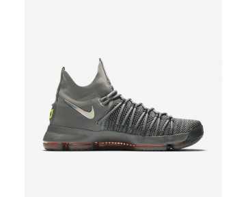 Nike Zoom KD 9 Elite Mens Shoes Dark Grey/Hyper Jade/Sail Style: 909139-013