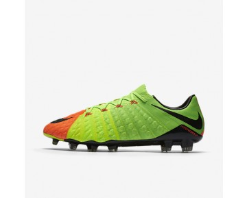 Nike Hypervenom Phantom 3 FG Mens Shoes Electric Green/Hyper Orange/Volt/Black Style: 852567-308