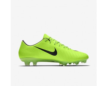 Nike Mercurial Vapor XI FG Mens Shoes Electric Green/Flash Lime/White/Black Style: 831958-303