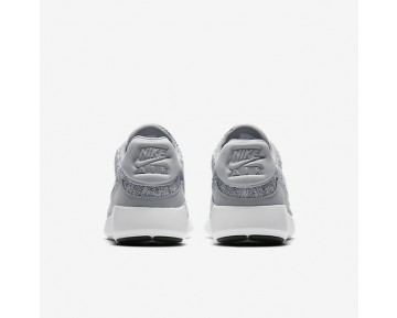 Nike Air Max Modern Flyknit Mens Shoes Wolf Grey/White/Black Style: 876066-001
