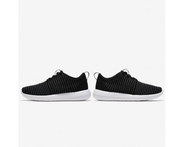 Nike Roshe Two Flyknit Mens Shoes Black/White/Volt/Dark Grey Style: 844833-001