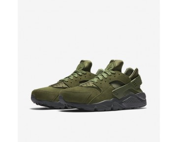Nike Air Huarache SE Mens Shoes Legion Green/Anthracite/Smoky Blue/Legion Green Style: 852628-301