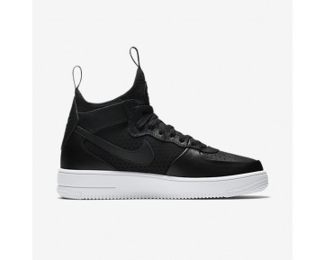 Nike Air Force 1 UltraForce Mid Mens Shoes Black/White/Black Style: 864014-001