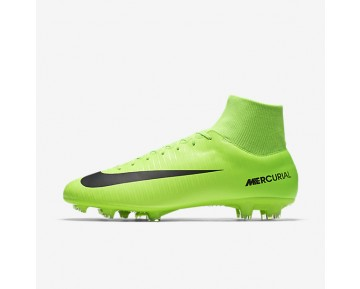Nike Mercurial Victory VI Dynamic Fit FG Mens Shoes Electric Green/Flash Lime/White/Black Style: 903609-303