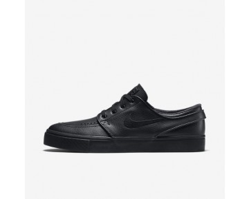 Nike SB Zoom Stefan Janoski Leather Mens Shoes Black/Black/Anthracite/Black Style: 616490-006