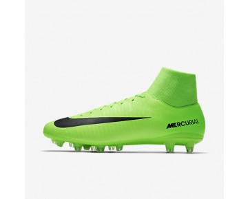 Nike Mercurial Victory VI Dynamic Fit AG-PRO Mens Shoes Electric Green/Flash Lime/White/Black Style: 903608-303