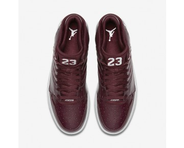 Jordan 1 Flight 4 Mens Shoes Night Maroon/Pure Platinum Style: 820135-600