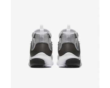 Nike Air Presto Mid Utility Mens Shoes Wolf Grey/White/Black Style: 859524-005