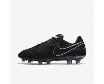 Nike Tiempo Legend VI Tech Craft 2.0 FG Mens Shoes Black/Black Style: 852539-001