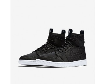 Air Jordan 1 Retro Ultra High Mens Shoes Black/Blue Lagoon/Infrared 23/Ghost Green Style: 844700-050