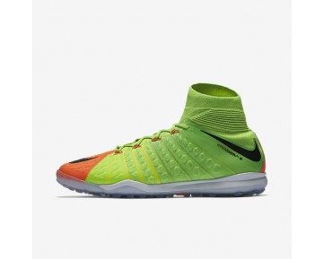 Nike HypervenomX Proximo II Dynamic Fit TF Mens Shoes Electric Green/Hyper Orange/Volt/Black Style: 852576-308