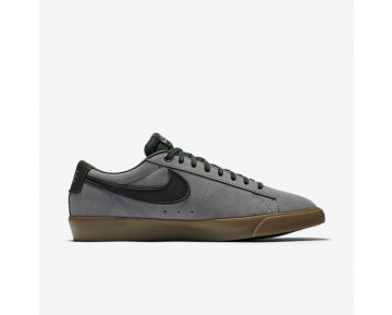 Nike SB Blazer Low GT Mens Shoes Gunsmoke/Gum Light Brown/Orange Blaze/Black Spruce Style: 704939-018