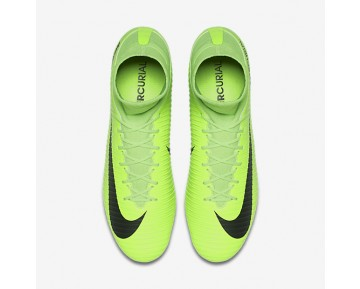 Nike Mercurial Veloce III Dynamic Fit FG Mens Shoes Electric Green/Flash Lime/White/Black Style: 831961-303
