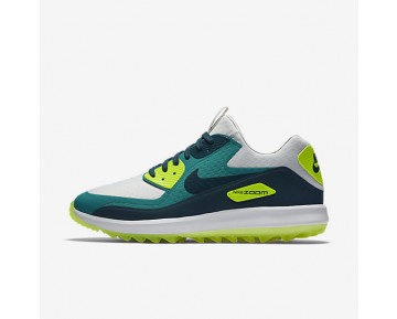 Nike Air Zoom 90 IT Mens Shoes Pure Platinum/Rio Teal/Volt/Midnight Turquoise Style: 844569-002