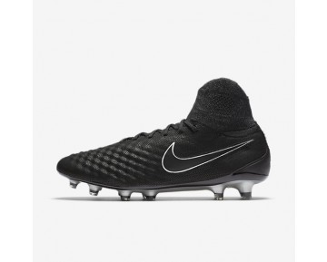 Nike Magista Obra II Tech Craft 2.0 FG Mens Shoes Black/Black Style: 852504-001