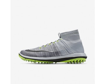 Nike Flyknit Elite Mens Shoes Pure Platinum/Cool Grey/Volt/Black Style: 844450-002