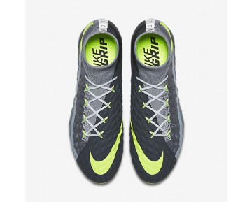 Nike Hypervenom Phantom 3 DF SE FG Mens Shoes Wolf Grey/Stealth/Anthracite/Volt Style: 882008-070