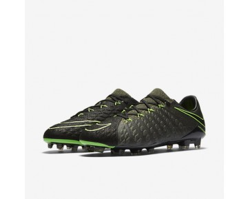 Nike Hypervenom Phantom 3 Tech Craft FG Mens Shoes Black/Sequoia/Palm Green/Electric Green Style: 852569-033