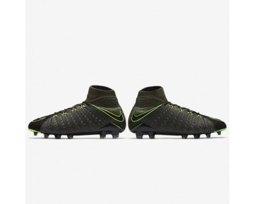 Nike Hypervenom Phantom 3 DF Tech Craft FG Mens Shoes Black/Sequoia/Palm Green/Electric Green Style: 852552-033