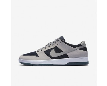 Nike SB Dunk Low Elite Mens Shoes Medium Grey/Dark Obsidian/White/Medium Grey Style: 864345-004