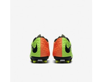 Nike Hypervenom Phade 3 FG Mens Shoes Electric Green/Hyper Orange/Volt/Black Style: 852547-308