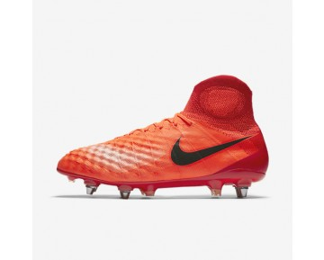Nike Magista Obra II SG-PRO Mens Shoes Total Crimson/University Red/Bright Mango/Black Style: 844596-806