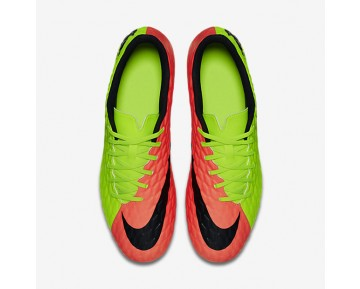 Nike Hypervenom Phade 3 SG Mens Shoes Electric Green/Hyper Orange/Volt/Black Style: 852544-308