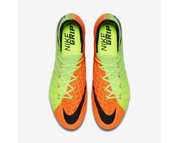 Nike Hypervenom Phantom 3 AG-PRO Mens Shoes Electric Green/Hyper Orange/Volt/Black Style: 852566-308
