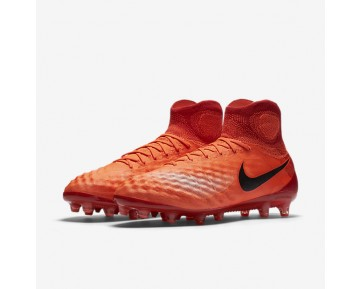 Nike Magista Obra II AG-PRO Mens Shoes Total Crimson/University Red/Bright Mango/Black Style: 844594-806