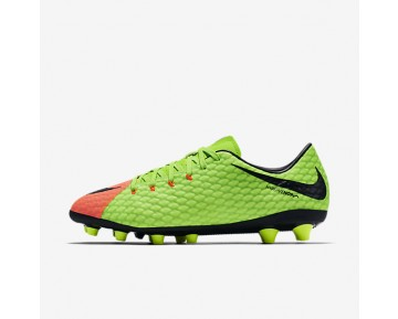 Nike Hypervenom Phelon 3 AG-PRO Mens Shoes Electric Green/Hyper Orange/Volt/Black Style: 852559-308