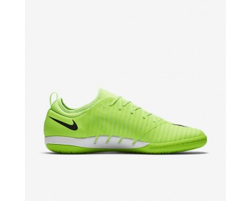 Nike MercurialX Finale II IC Mens Shoes Flash Lime/White/Gum Light Brown/Black Style: 831974-301