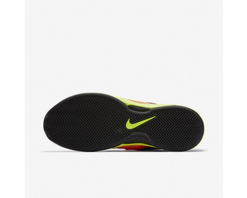 NikeCourt Zoom Vapor 9.5 Tour Clay Mens Shoes Lava Glow/Hyper Orange/Volt/Black Style: 631457-600