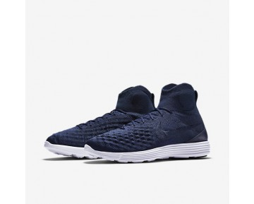 Nike Lunar Magista II Flyknit Mens Shoes College Navy/Black/White/College Navy Style: 852614-401