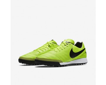 Nike Tiempo Mystic V TF Mens Shoes Volt/Volt/Black Style: 819224-707