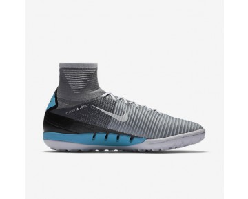 Nike MercurialX Proximo II TF Mens Shoes Wolf Grey/Pure Platinum/Laser Blue/White Style: 831977-010