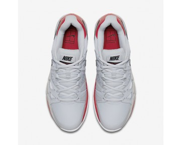 NikeCourt Air Vapor Advantage Clay Mens Shoes Pure Platinum/University Red/Black/Black Style: 819518-001