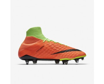 Nike Hypervenom Phantom 3 DF SG-PRO Mens Shoes Electric Green/Hyper Orange/Volt/Black Style: 852553-308