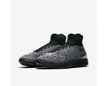 Nike Lunar Magista II Flyknit FC Mens Shoes Black/White/White/Black Style: 876385-001