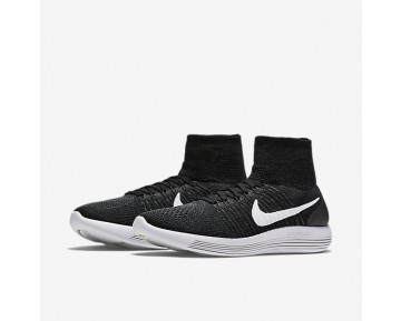 Nike LunarEpic Flyknit Mens Shoes Black/Anthracite/Volt/White Style: 818676-007