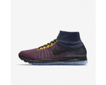 NikeLab Air Zoom All Out Flyknit Mens Shoes College Navy/Vivid Purple/Olive Flak/Black Style: 881679-400