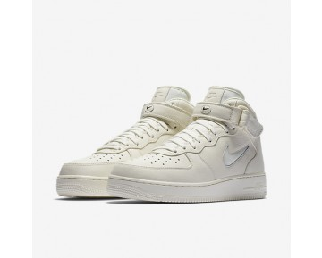 NikeLab Air Force 1 Mid Jewel Mens Shoes Sail/Sail/Sail Style: 941913-100