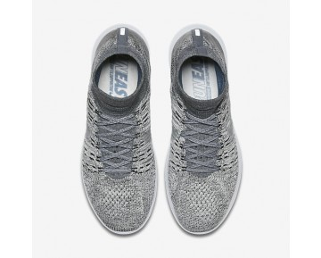 NikeLab LunarEpic Flyknit Mens Shoes Pale Grey/Black/Sail/Pure Platinum Style: 831111-002